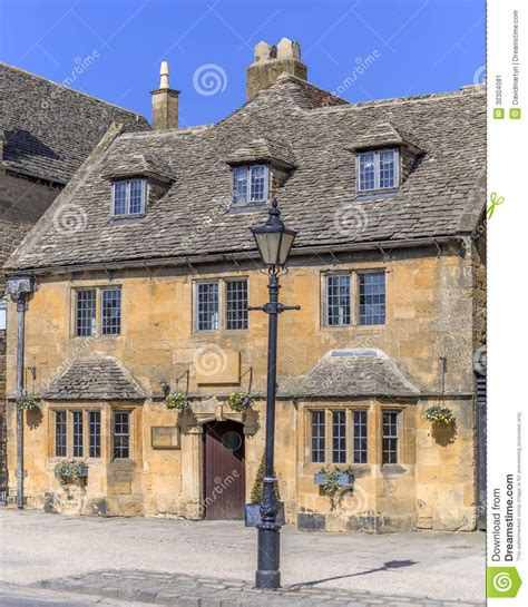 Cottages In Broadway Cotswolds by Cottages Broadway Stock Image Image 30304081