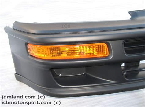 What S Included jdm honda cr x ef8 90 91 sir front lip spoiler