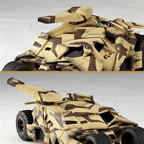 Revoltech Sci Fi Batman Bane Tumbler Cannon Camo revoltech rises camo tumbler with cannon the