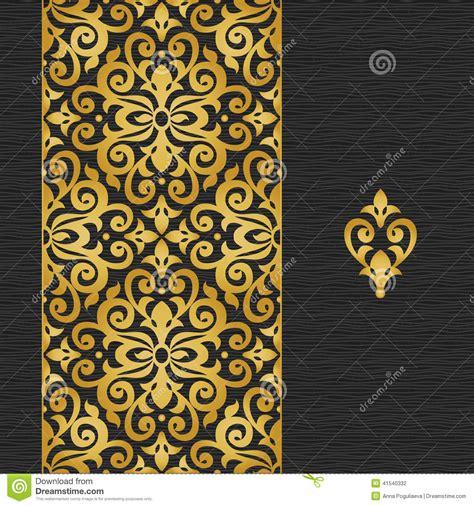 victorian design elements vector vector ornate border in victorian style stock vector