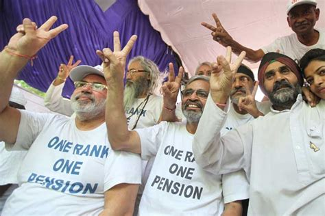 photos orop notification 2015 the financial express orop govt issues notification ex serviceman terms it