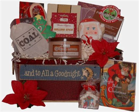 night before christmas gift basket findgift com