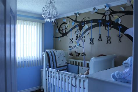Decorating On A Budget Monkey Love Baby Boy Nursery Room Decorating A Nursery On A Budget