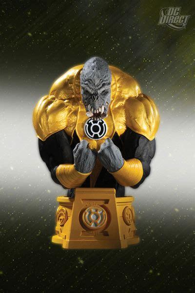 Dc Blackest White Lantern Sinestro Bust dc direct update for march 2011 the toyark news