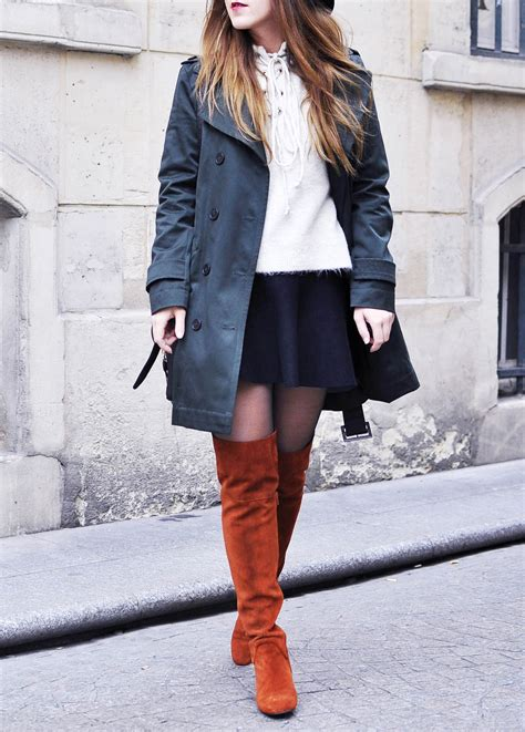 boots comptoir des cotonniers for the of thigh high boots elodie in