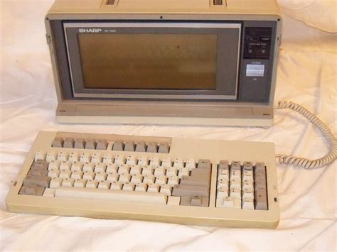 Komputer Sharp sharp pc 7000 portable desktop pc ibm clones vintage