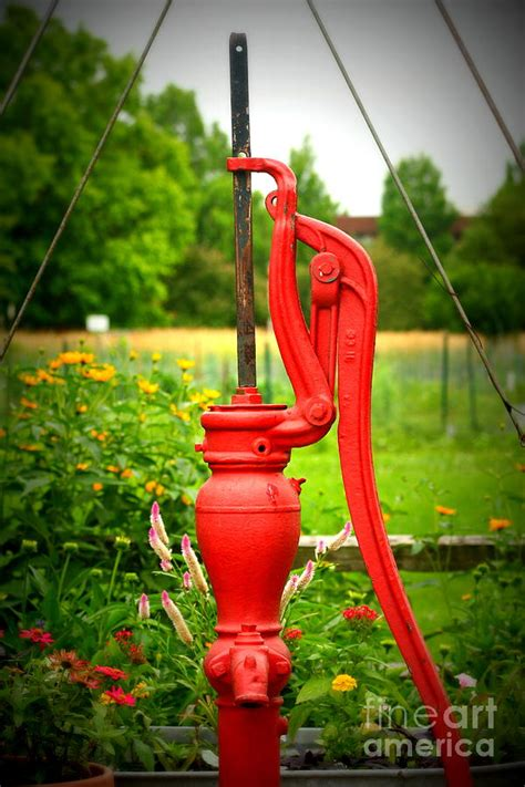 Outdoor Water Pump Photograph By Eric Irion