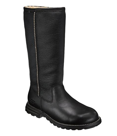 ugg 174 leather boots dillards