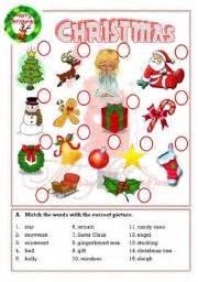 english worksheets christmas worksheets page 4