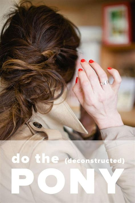 diy romantic hairstyles a romantic hairstyle tutorial deconstructed ponytail