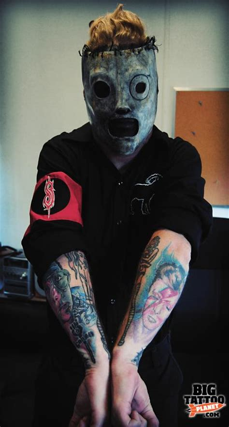 corey taylor tattoos skin corey slipknot big