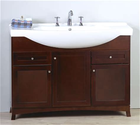 space saving bathroom vanity ronbow adara 47 quot space saving vanity vt4702