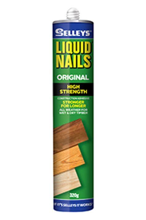 Liquid Nails® High Strength   Selleys Australia