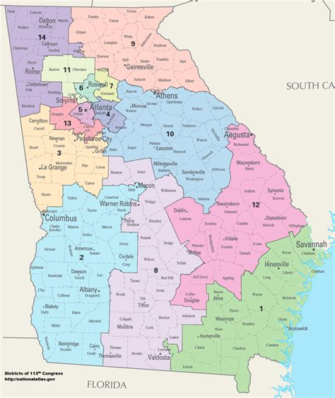 georgia house districts georgia s congressional districts wikipedia