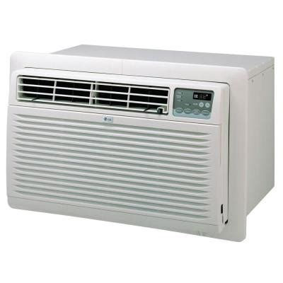 home depot air conditioner lg electronics 9 800 btu 115 volt through the wall air