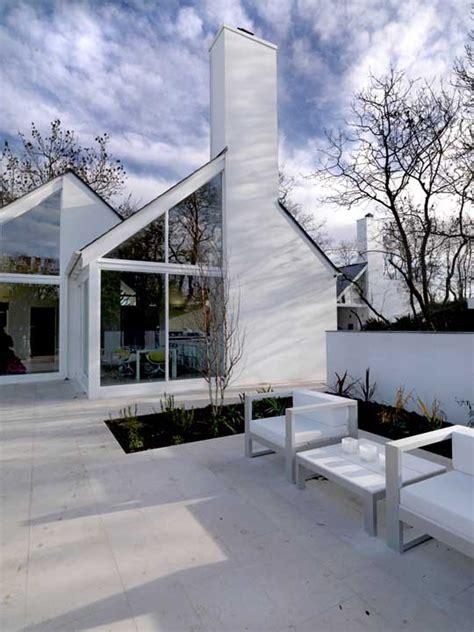 irish country house origami design  north ireland modern house designs