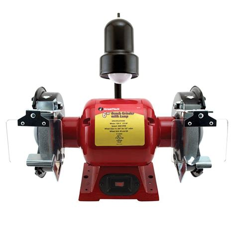 6 in bench grinder great neck saw 6 in bench grinder 80058 the home depot