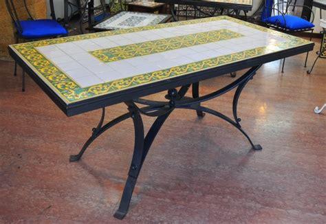 tavoli ferro battuto tavolo in ferro battuto 1f tavoli decorati e