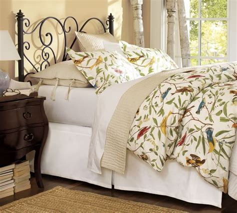 Pottery Barn Dining Room Tables Spring Sparrow Duvet Cover Amp Sham Pottery Barn
