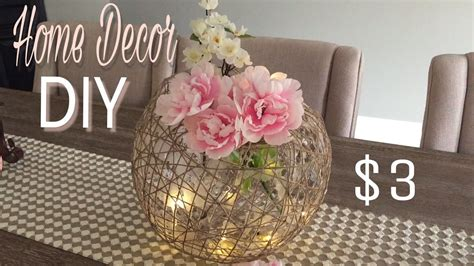 Wedding Centrepiece Ideas by Home Decor Diy Decorative Diy Dollar Tree Diy