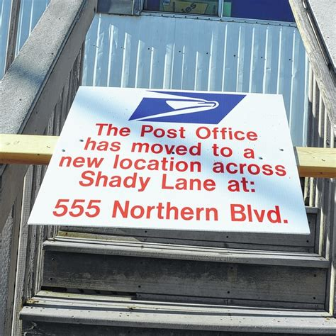 abington journal chinchilla post office across the after 18 years at temporary spot
