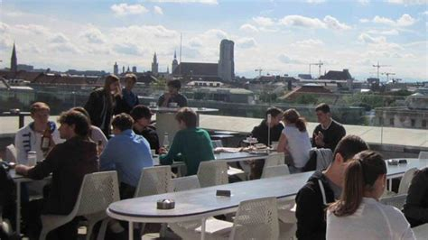 Top Bars In Munich by Cafe Vor Hoelzer Forum Rooftop Bar In Munich