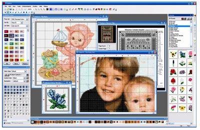 cross stitch pattern maker free download mac cross stitch embroidery design software the artful crafter