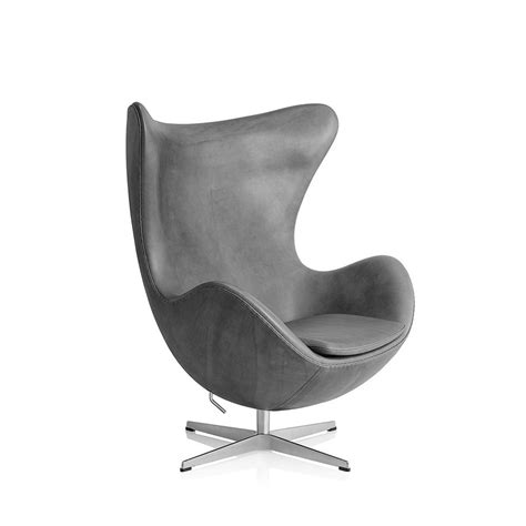 poltrona egg poltrona egg in pelle by fritz hansen lovethesign