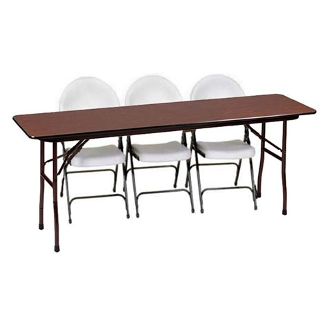 18 X 48 Folding Table by Correll Fixed Height Folding Table 18 Quot X 48