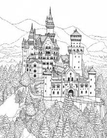 castle coloring pages great castles castle coloring book