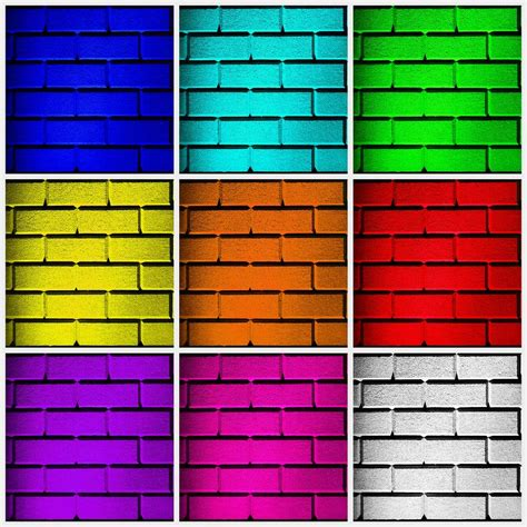 color wall squared color wall photograph by semmick photo