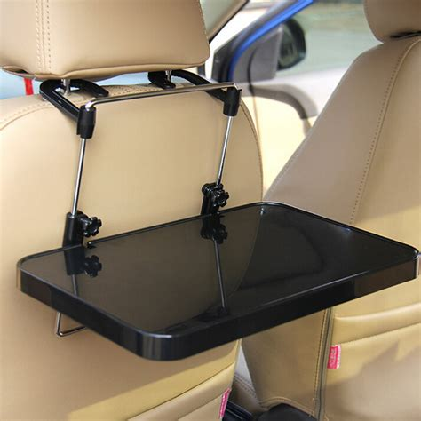 auto interior supplies folding computer desk with drawer car steering wheel seat vehicular