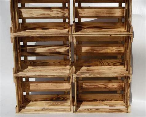 bücherregal naturholz regal obstkisten k 252 che