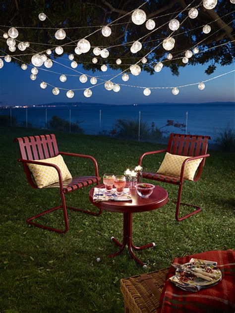 backyard string lights ideas triyae backyard string lights ideas various design