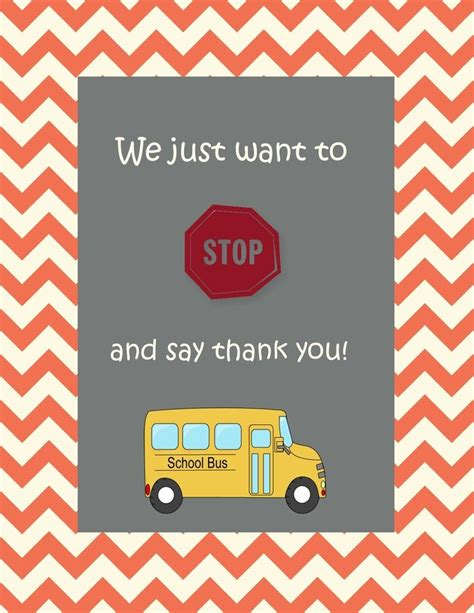driver thank you card template 10 best recognizing the school drivers images on