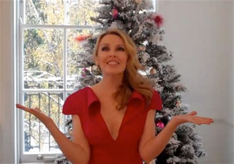A Message From Minogue by A Miss Minogue S Festive Message
