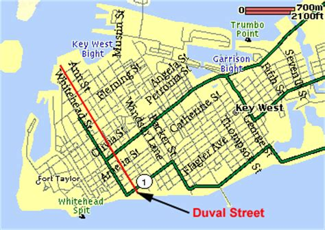 map of key west florida streets map of key west in the florida from keysdirectory