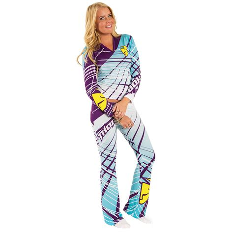 womens thor motocross gear thor mx clothing 2015 flora teal motocross