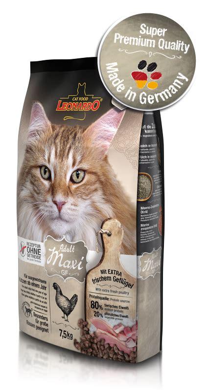 Maxi Gf maxi gf katzenfutter ohne getreide leonardo 174