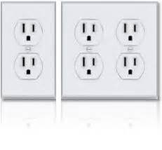 Kitchen Island Electrical Outlets newer homes why decora style switches but not outlets