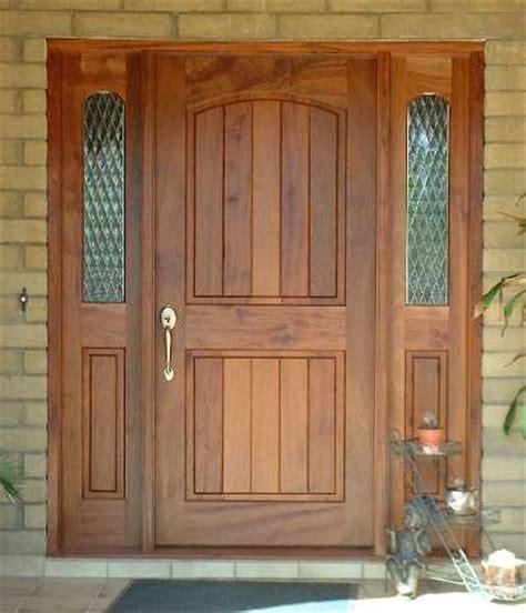 Sapele Exterior Doors Entry Door