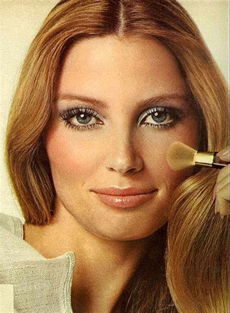 make up for women in their 70 the 1970s face revlon blush 1970s makeup pinterest