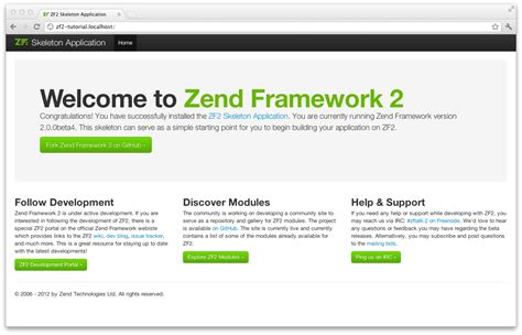 zend framework 2 layout footer artigos php maranh 227 o