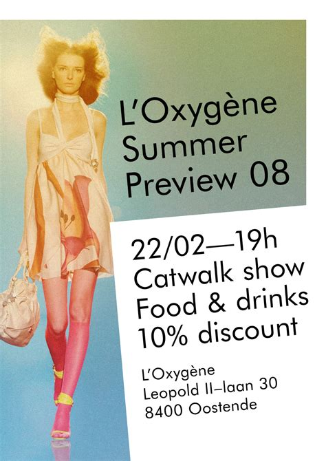 A Preview Of The Summer 2008 Collection From New Look by Flyer L Oxyg 232 Ne Summer Collection Preview 2008 Forma B