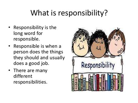 what does family responsibility