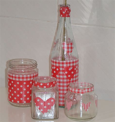 How To Decorate Glass Jars by Fab Mums 187 Decorated Glass Jars For Valentine S Day