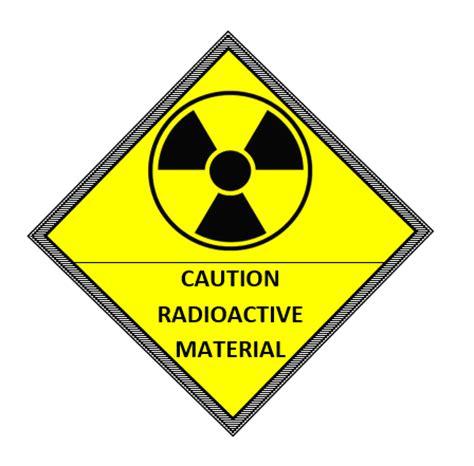 Radioactivity Caution Label Template Microsoft Word Templates Caution Label Template