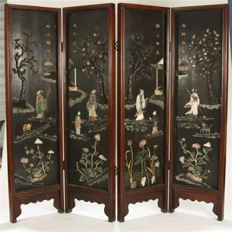 vintage oriental screens room dividers chinese room