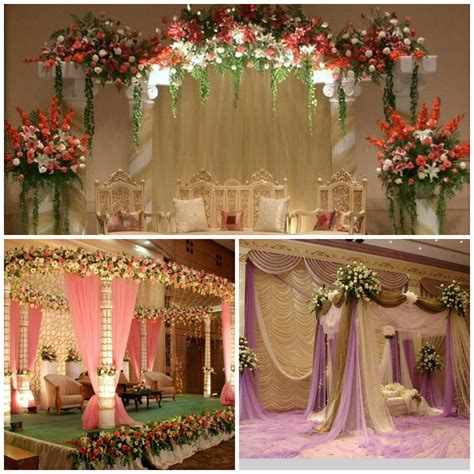 Floral Wedding Decorations by Amazing Stage Decoration Ideas For Muslim Weddings