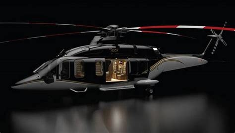Luxurious Interiors of the Bell 525 Relentless Helicopter   GTspirit